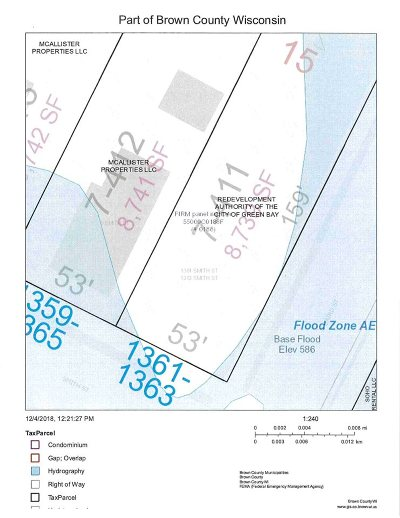Green Bay Residential Lots & Land Active-No Offer: 1361 Smith