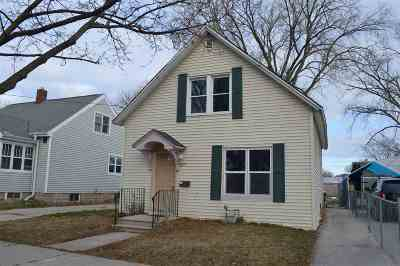 Green Bay Single Family Home Active-No Offer: 1175 Smith