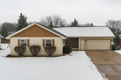 Neenah Single Family Home Active-Offer No Bump-Show: 2263 Redtail