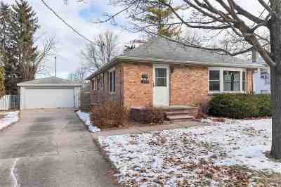 Green Bay Single Family Home Active-No Offer: 1122 Western
