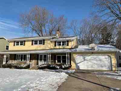 Appleton Single Family Home Active-No Offer: 3418 E Lexington