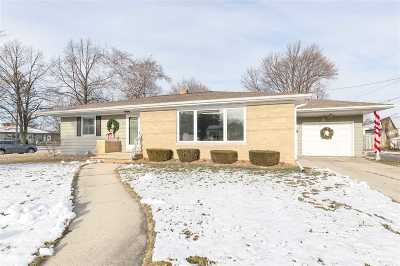 Green Bay Single Family Home Active-No Offer: 1040 Liberty