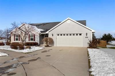 Appleton Single Family Home Active-No Offer: 4872 N Stargaze