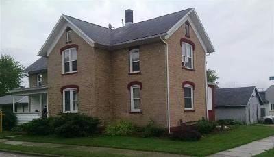 Shawano County Multi Family Home Active-No Offer: 112 W State