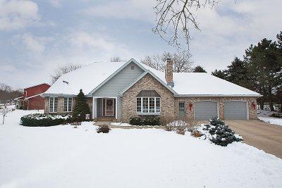 Appleton Single Family Home Active-No Offer: 605 E Woodcrest
