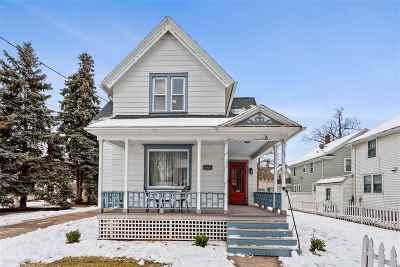 Appleton Single Family Home Active-No Offer: 808 N Oneida