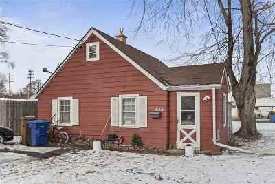 Menasha Single Family Home Active-No Offer: 832 Jefferson