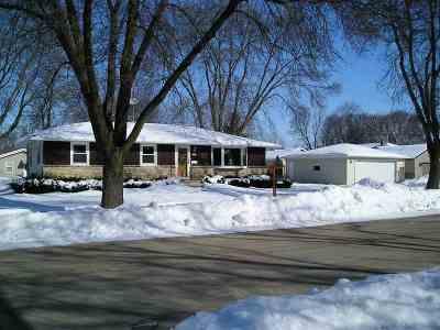 Oshkosh Single Family Home Active-No Offer: 1418 Coolidge