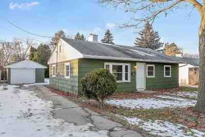 Neenah Single Family Home Active-Offer No Bump: 725 Mitchell