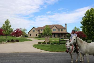 Appleton Single Family Home Active-No Offer: W3586 Equestrian