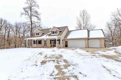 Waupaca Single Family Home Active-No Offer: E1770 Garfield