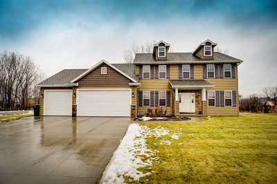 Appleton Single Family Home Active-No Offer: 4601 N White Hawk