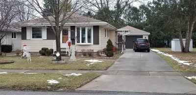 Oshkosh Single Family Home Active-Offer No Bump: 1918 Hubbard
