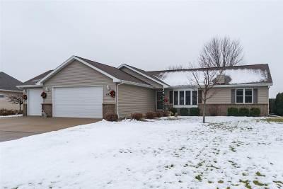 Appleton Single Family Home Active-No Offer: 4338 N Bull Rush