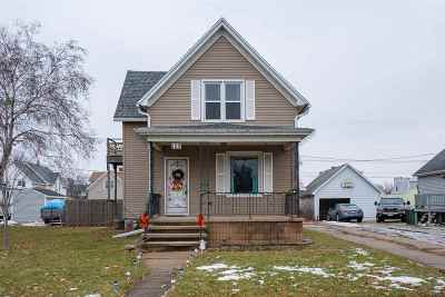 Kimberly WI Single Family Home Active-No Offer: $134,900