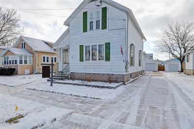 Oshkosh Single Family Home Active-No Offer: 929 W 5th
