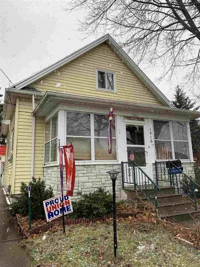 Oshkosh Single Family Home Active-Offer No Bump: 1416 Beech
