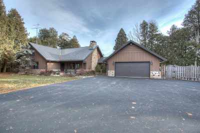 Menominee Single Family Home Active-No Offer: N6712 N Harbor Point