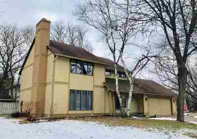 Appleton Single Family Home Active-No Offer: 1133 N Briarcliff