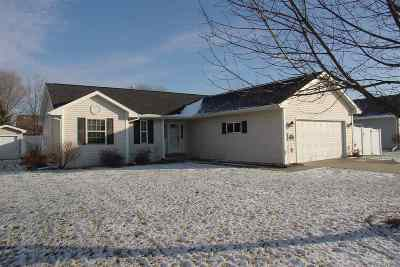 Neenah Single Family Home Active-Offer No Bump: 2191 Deer Prairie