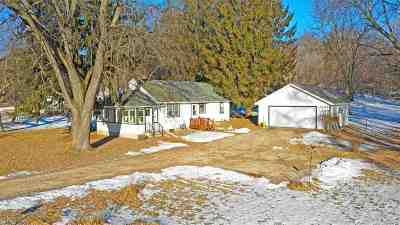 Waupaca Single Family Home Active-No Offer: E1892 Hwy 54