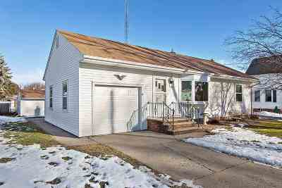 Appleton Single Family Home Active-Offer No Bump: 1508 E Gunn