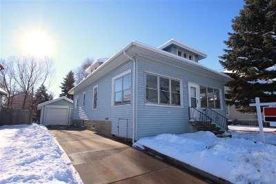 Oshkosh Single Family Home Active-No Offer: 1107 School