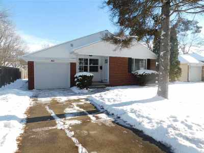 Green Bay Single Family Home Active-No Offer: 843 Colonial