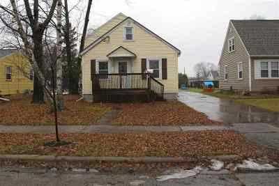 Menasha Single Family Home Active-No Offer: 816 Appleton