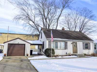 Green Bay Single Family Home Active-No Offer: 478 Cottage Grove