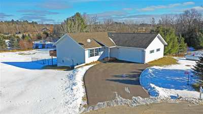 Waupaca Single Family Home Active-No Offer: N3824 Manney