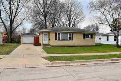 Neenah Single Family Home Active-No Offer: 1046 Sterling