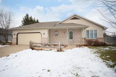 Menasha Single Family Home Active-No Offer: 1163 Fieldview