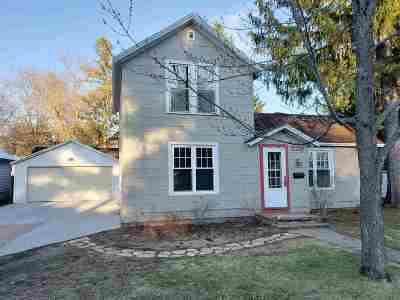 Waupaca Single Family Home Active-No Offer: 729 8th