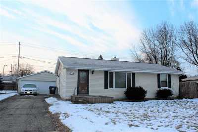 Neenah Single Family Home Active-Offer No Bump: 332 Thomas