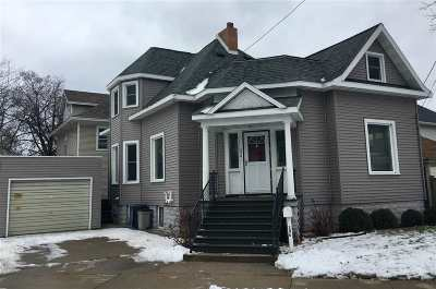 Marinette Single Family Home Active-Offer No Bump: 336 Jefferson