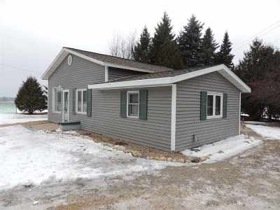 Oconto Falls Single Family Home Active-No Offer: 8219 Hwy 22