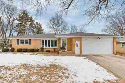 Green Bay Single Family Home Active-No Offer: 1678 Ranchland