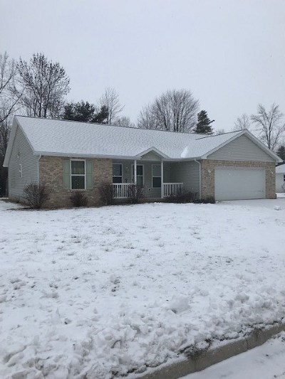 Oconto Single Family Home Active-Offer No Bump: 135 Bitters