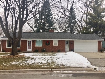 Green Bay Single Family Home Active-No Offer: 2487 Leslie
