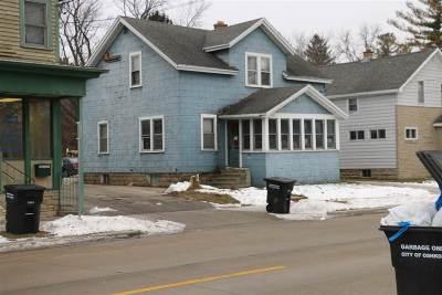Oshkosh Single Family Home Active-No Offer: 1123 W New York