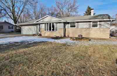 Green Bay Single Family Home Active-No Offer: 1486 Carole