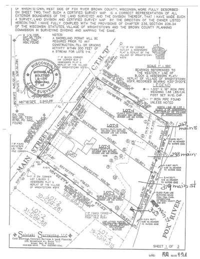 Residential Lots & Land Active-No Offer: 293 Main