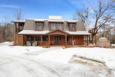Waupaca Single Family Home Active-No Offer: N2556 Pleasant View