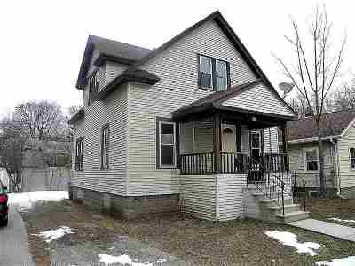 Oshkosh Single Family Home Active-No Offer: 416 Fulton
