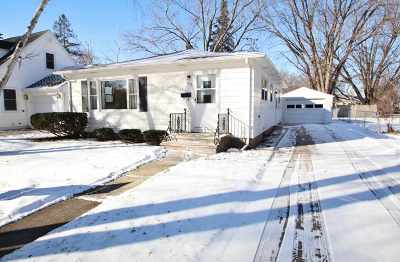 Single Family Home Active-No Offer: 1012 Nicolet