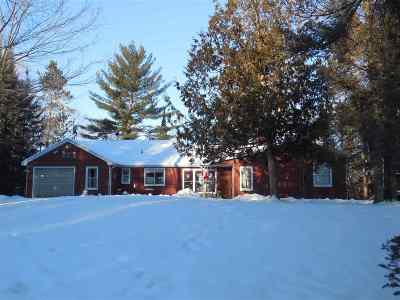 Pembine Single Family Home Active-No Offer: N18079 Wiggins Lake