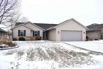 De Pere Single Family Home Active-No Offer: 2365 Indy