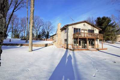 Oconto County Single Family Home Active-No Offer: 10974 W Ucil Lake
