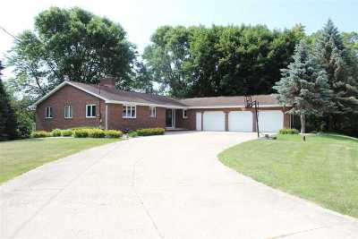 Kaukauna Single Family Home Active-No Offer: N1862 River Forest